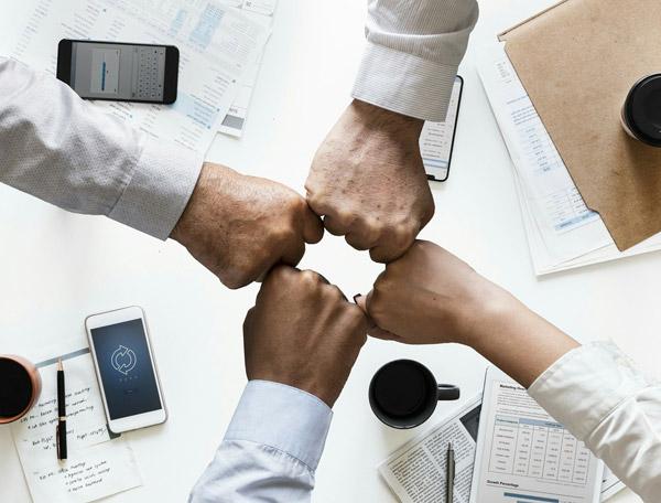 商务团结合作