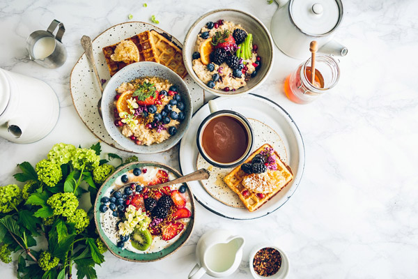 丰富的早餐图片