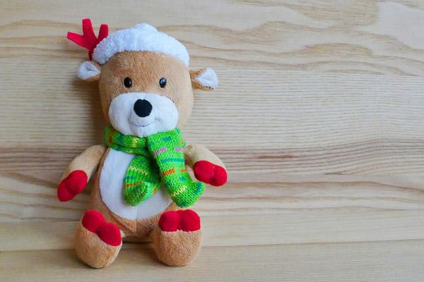 圣诞驯鹿布偶