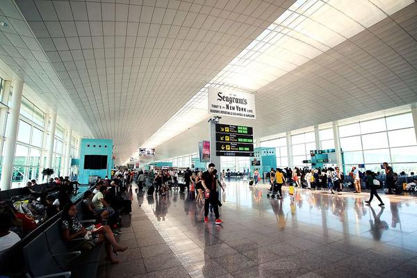 机场出发区