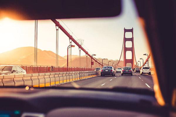 金门大桥路况