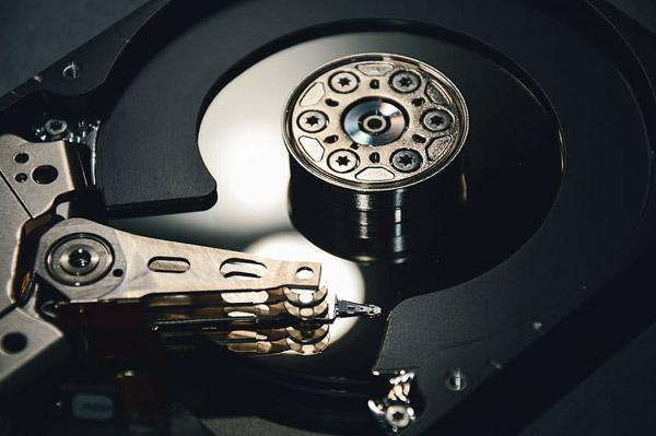 硬盘内部结构