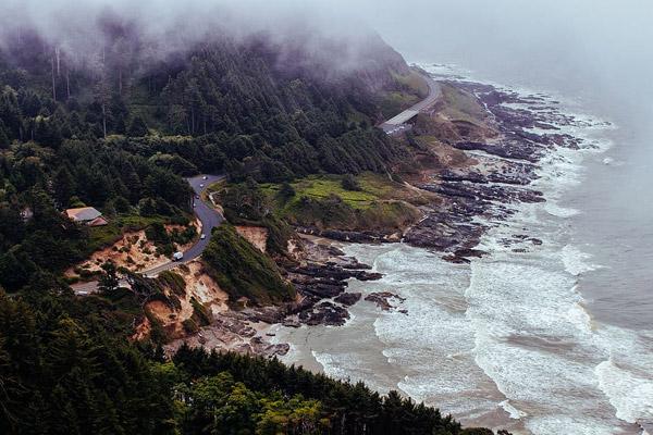 海边山地公路