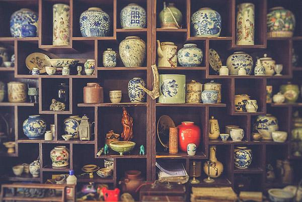 陶瓷货架图片