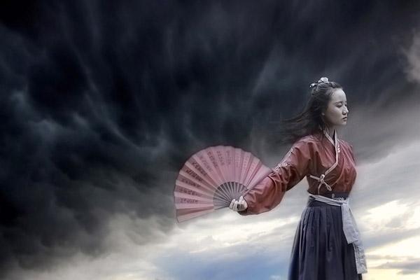中国古风少女