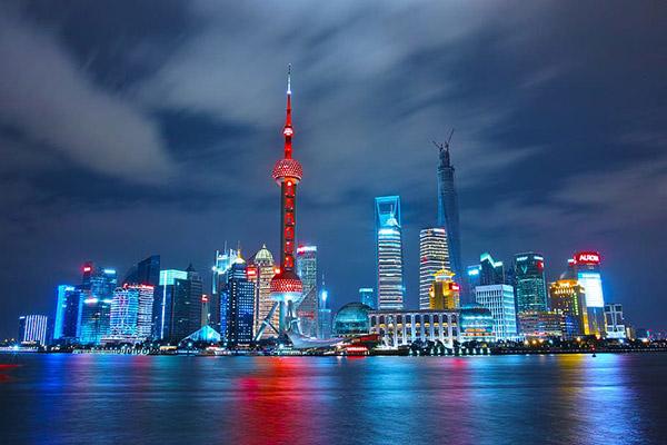 上海浦东璀灿夜景