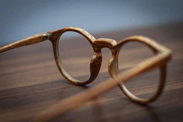 木质眼镜框图片