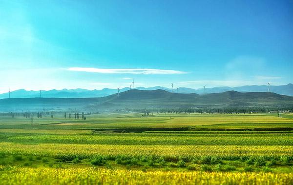 山西田野风景