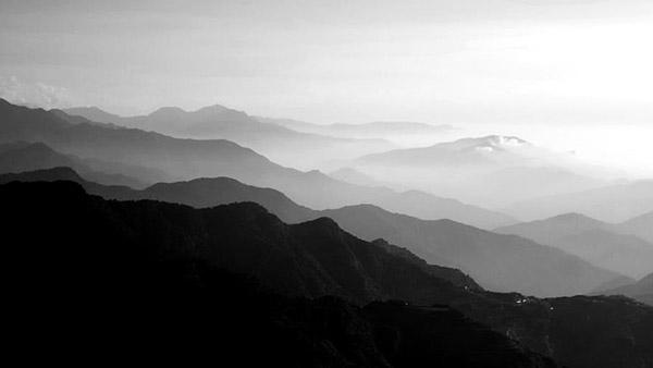 台湾山脉风景