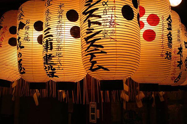 日本纸灯笼