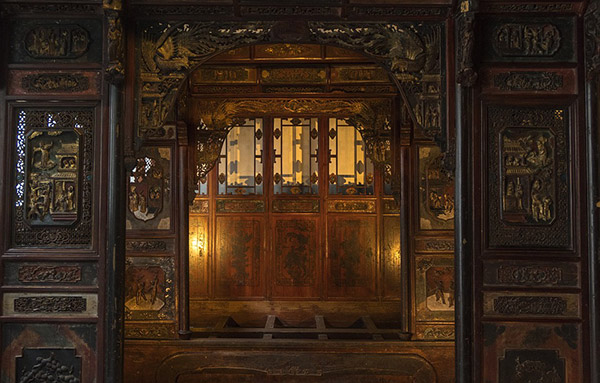 中国古代房间木雕
