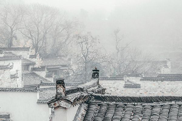 中式老建筑民居
