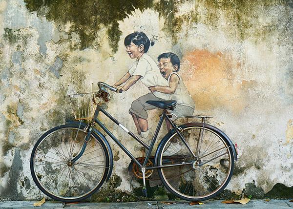 墙面涂鸦艺术