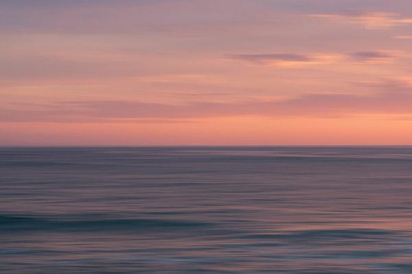 日落大海风景