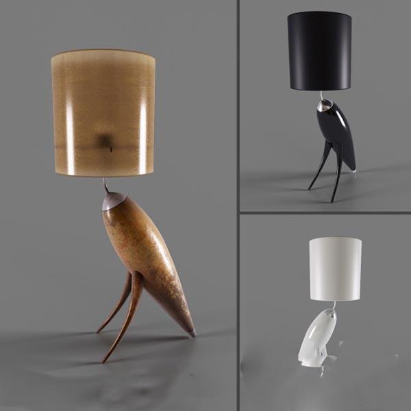 古典风格灯具模型