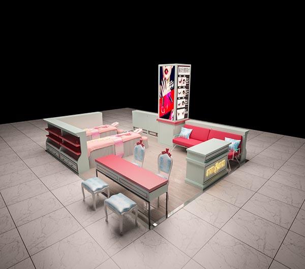 美甲店模型
