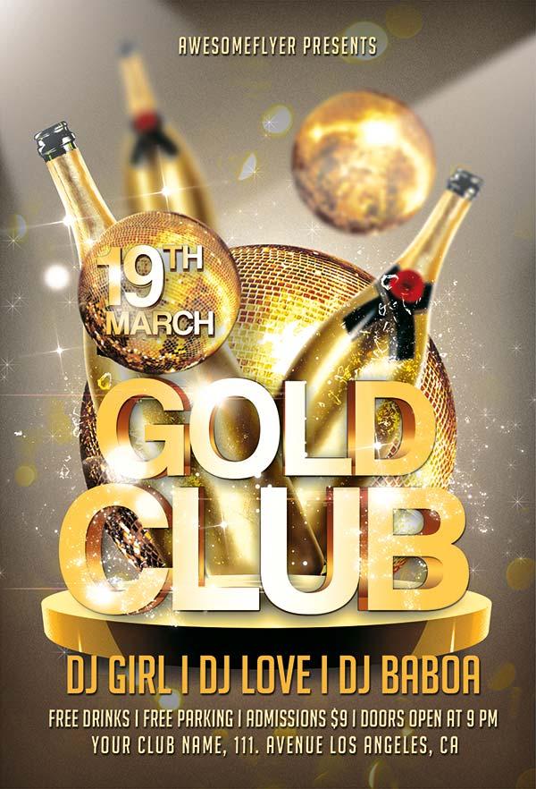 金色派对狂欢海报