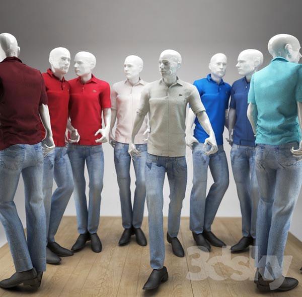 男模特模型