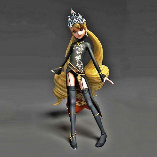 芭比公主模型