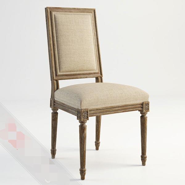 舒适椅子模型