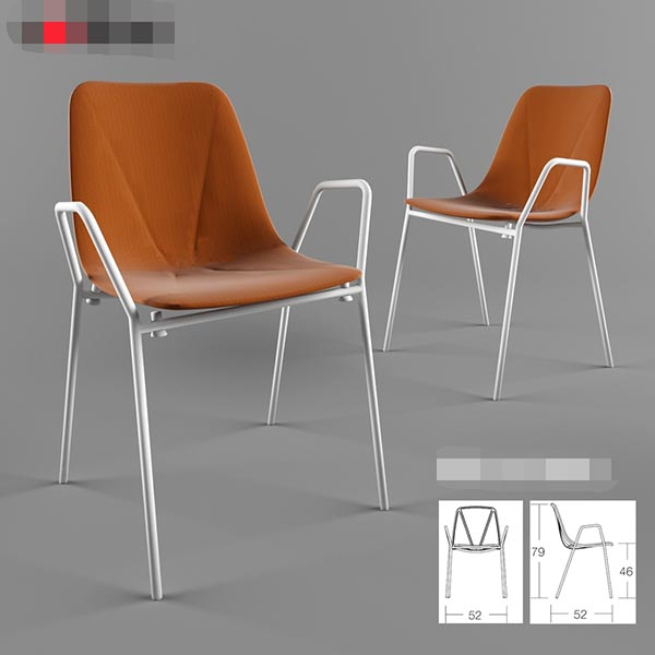 舒适座椅3D模型
