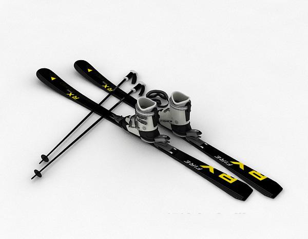 雪橇3d模型