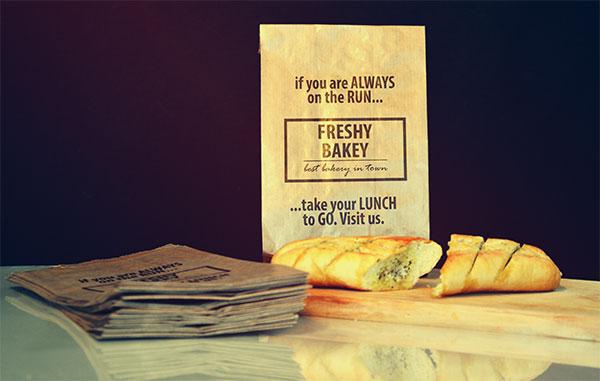 食品包装袋样机