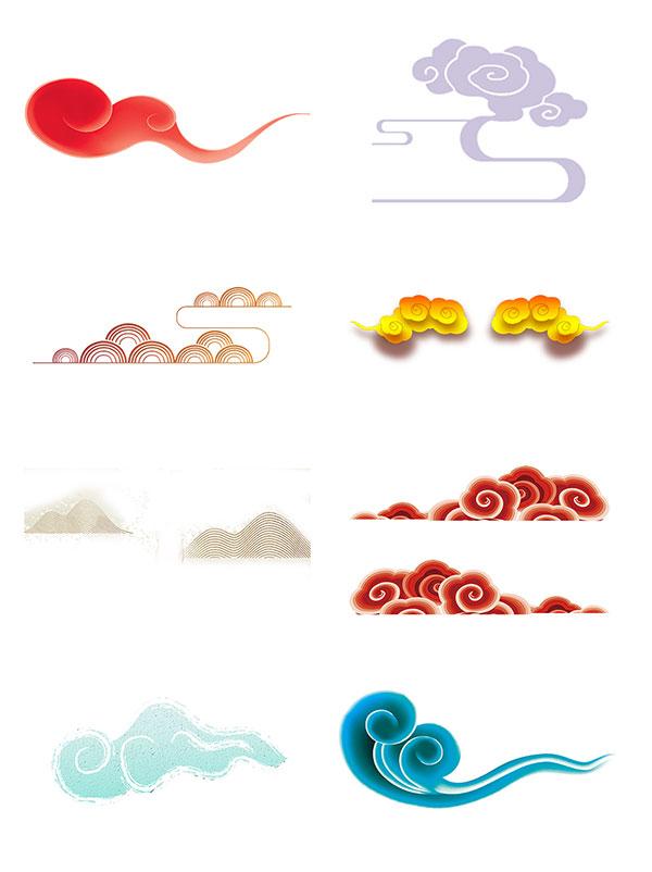 素材分类: 创意元素所需点数: 0 点 关键词: 手绘扁平风中国传统元素