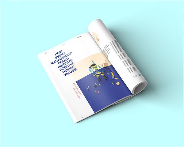 商务杂志样机