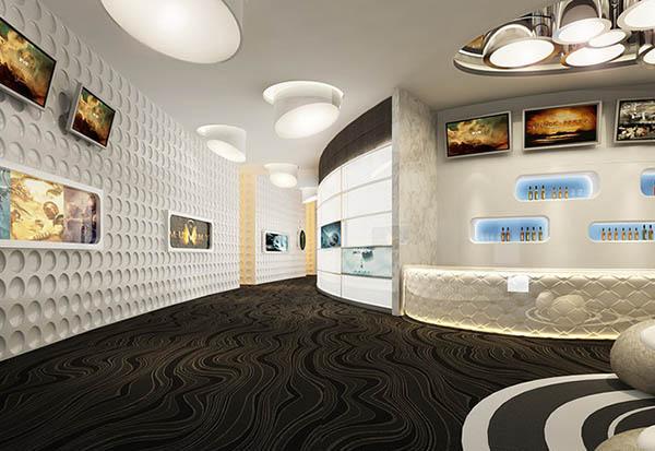 电影院大厅模型