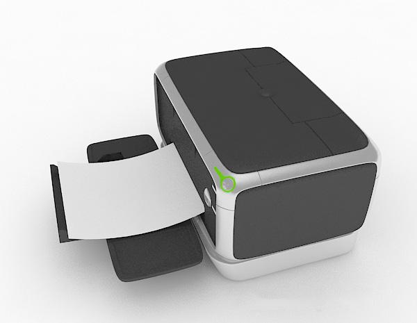 打印机3d模型