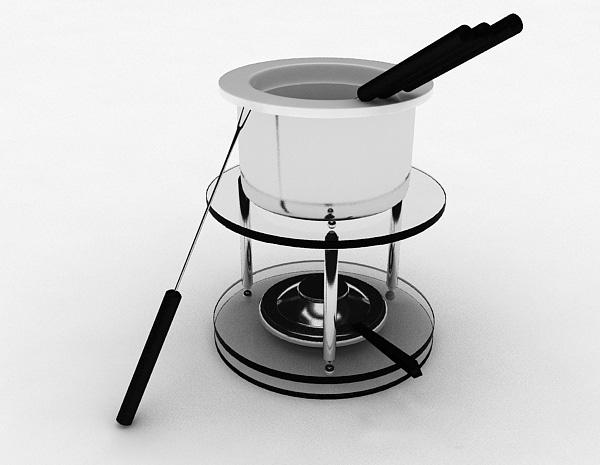 火锅炉3d模型