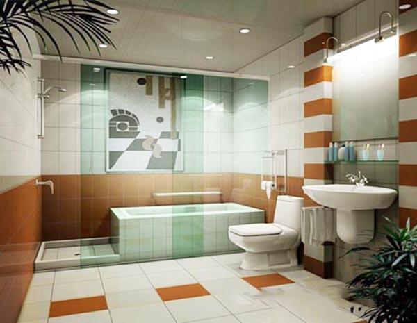 洗手间模型
