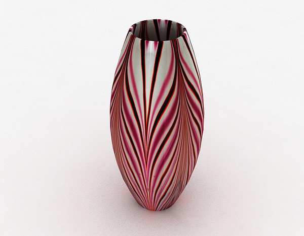 陶瓷摆件模型