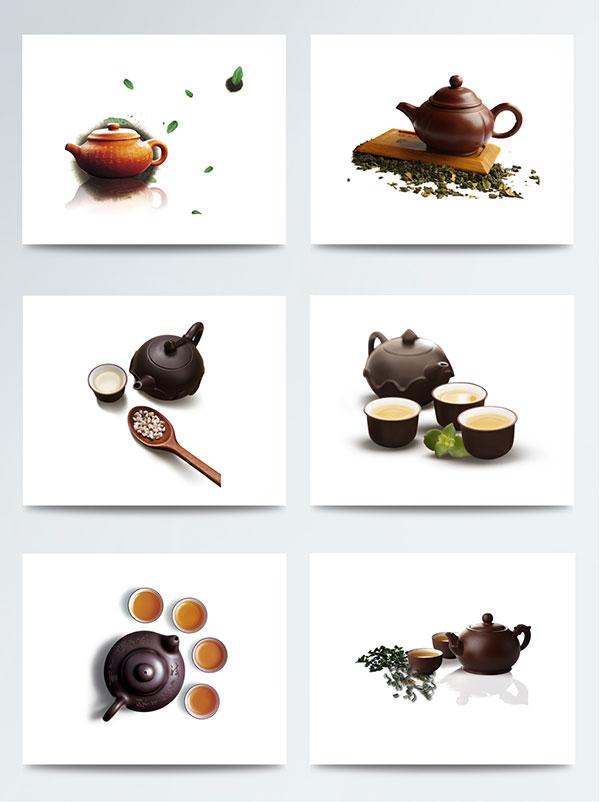 古典茶具元素