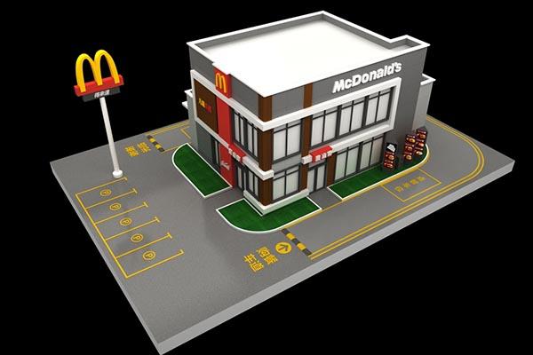 麦当劳模型