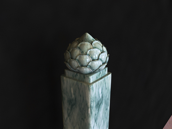 �花方柱模型
