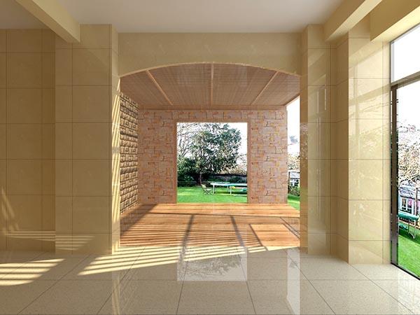 庭院设计模型