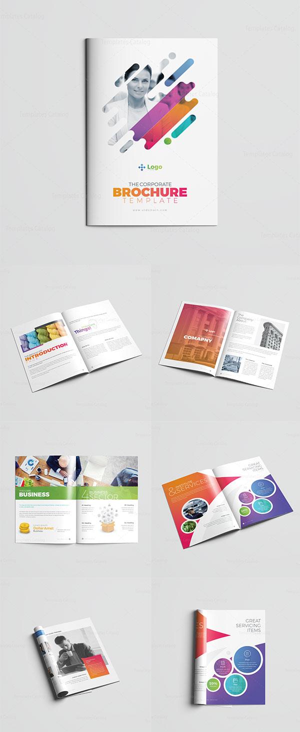 炫彩简洁画册