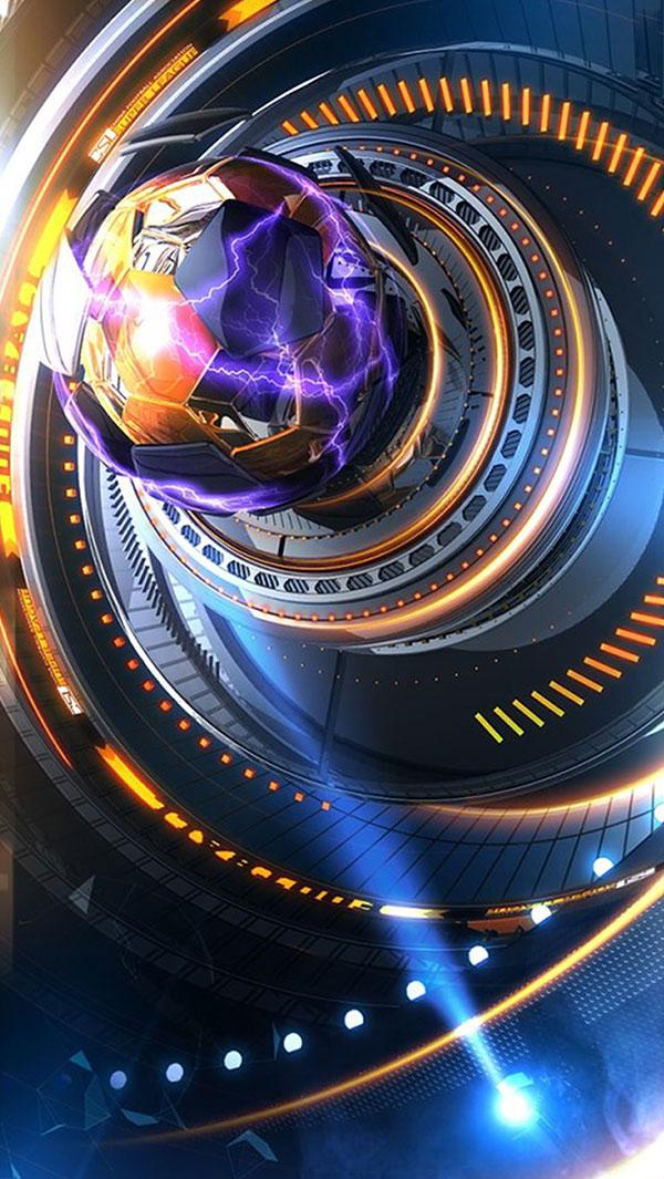 机械科幻背景