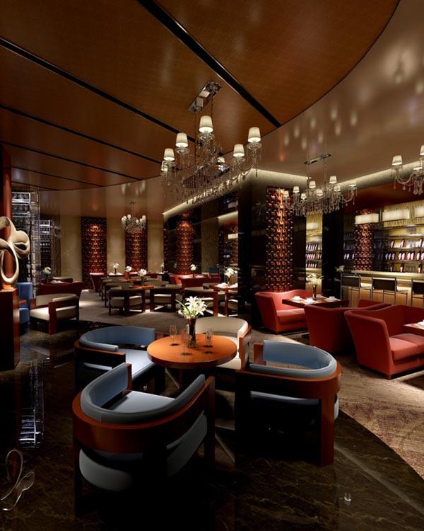 西餐厅3d模型