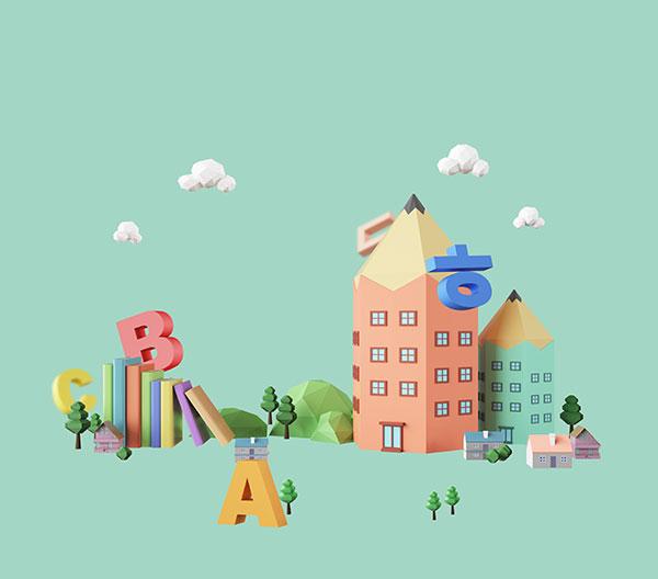 积木建筑智力开发