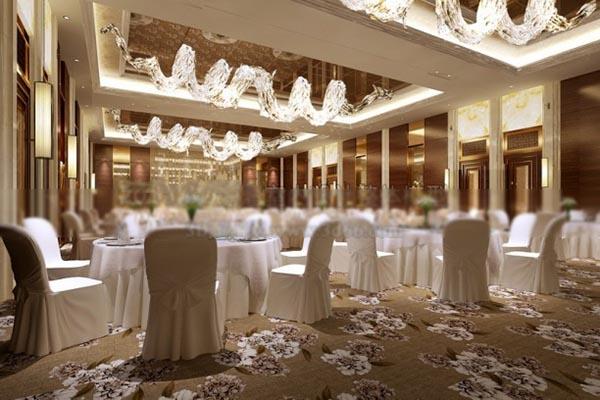 宴会厅3d模型_3D宴