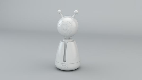 微投影机器人模型
