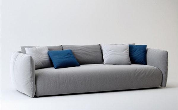 三人沙发模型