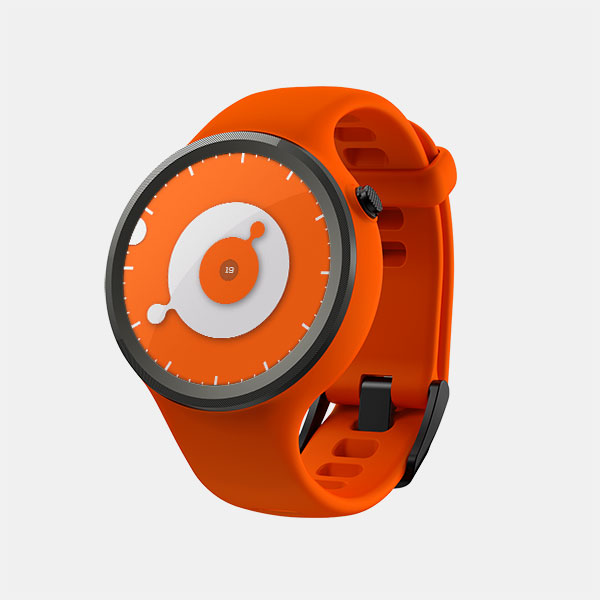 手表样机模型