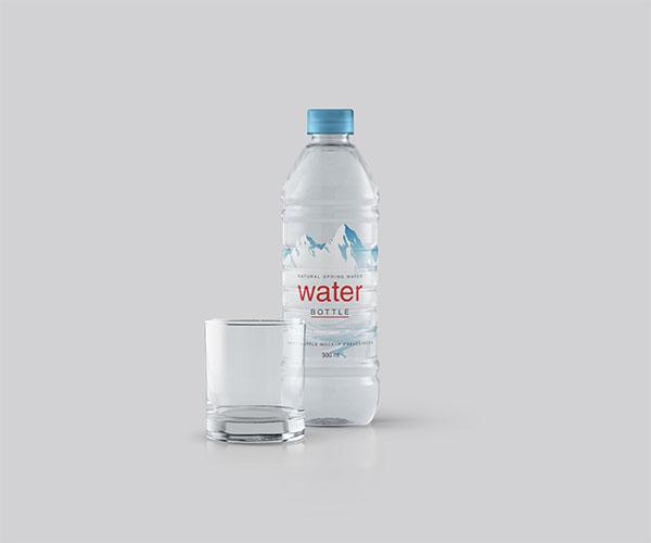 矿泉水瓶样机