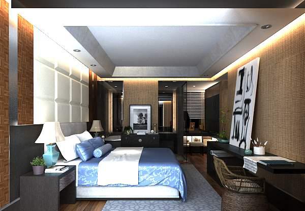 卧室设计模型
