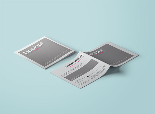 公司宣传手册样机