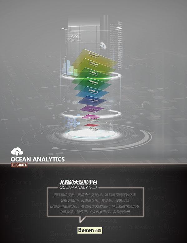 科技风大数据海报